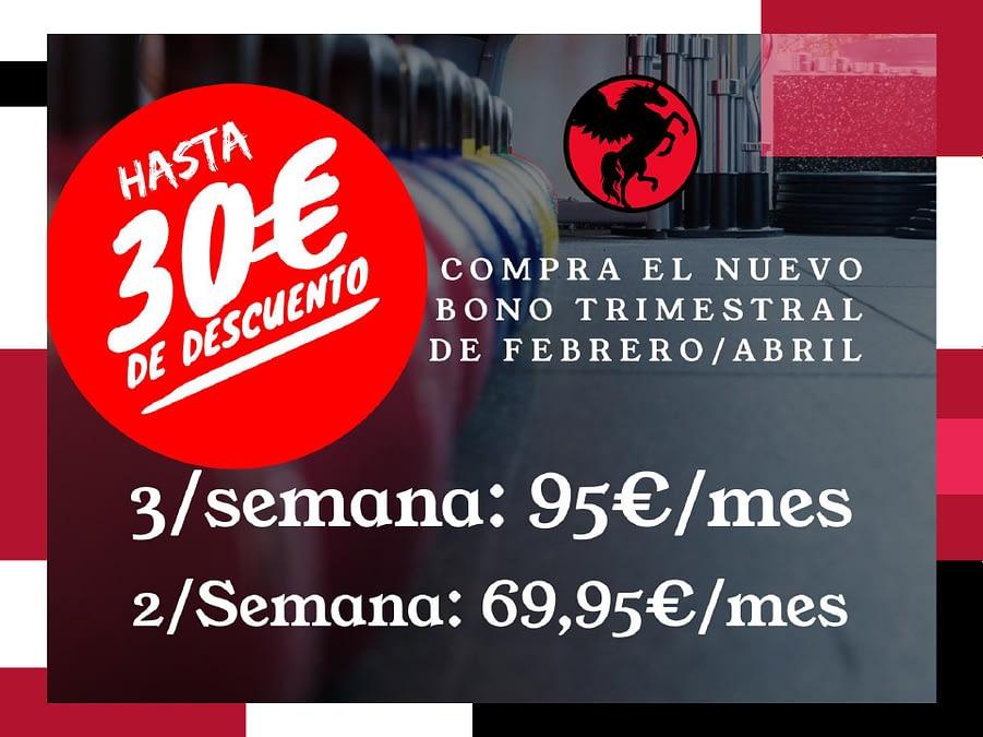 Promoción bono trimestral en Equilibrium Torrente (Valencia)