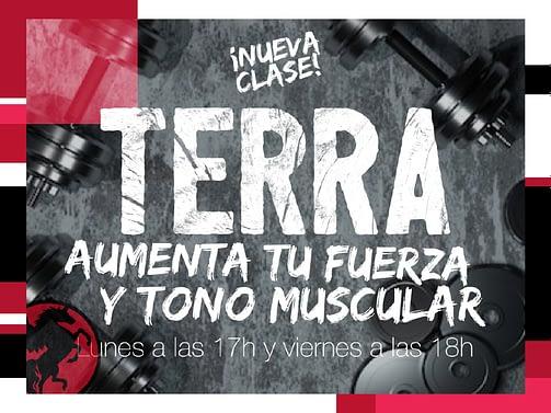 Aumenta tu fuerza y tono muscular con la nueva clase colectiva TERRA