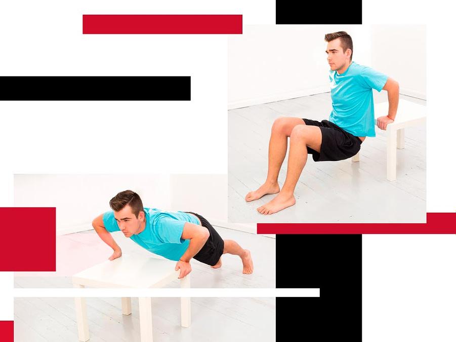 Materiales y ejercicios para hacer en casa